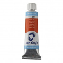 10ml - Van Gogh Watercolour - Vermilion