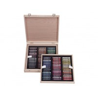 Rembrandt Soft pastelS DE LUXE WOODEN BOX OF 90 PORTRAIT