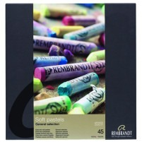 Rembrandt Soft Pastels BASIC SET OF 45