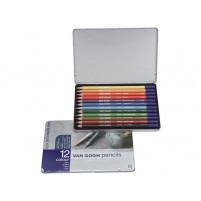 METAL COLOUR PENCIL SET OF 12