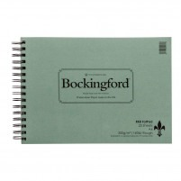 Bockingford Rough Watercolour Fat Pad 300gsm - A4
