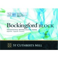 "Bockingford Watercolour Block 12x9"" ~ 300gsm Not"