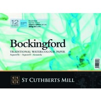 Bockingford Watercolour Glued Pad 18x13cm ~ 300gsm CP(Not)