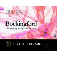 Bockingford Watercolour Glued Pad 18x13cm ~ 300gsm HP