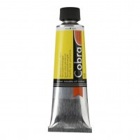 40ml - Cobra Artist Watermixable Oil - Series 2 - Permanent lemon yellow