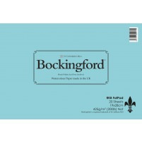 "Bockingford Watercolour Fat Pad 425gsm - 19x28cm (7""x11"")"