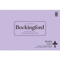 "Bockingford Extra Rough Watercolour Fat Pad 425gsm - 19x28cm (7""x11"")"