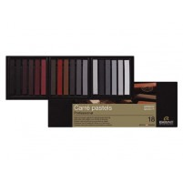 CARRE PASTELS SET OF 18