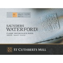 1 Sheet of Saunders Waterford 56x76cm - 300gsm - CP(NOT) Watercolour Paper