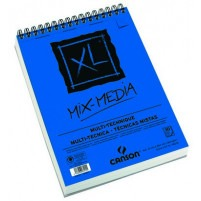 Canson - XL Mixed Media Paper Spiral Pad - A4 300gsm - 30 sheets