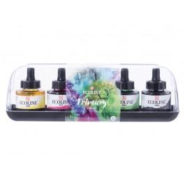 ECOLINE INK PRIMARY SET 5X30ML