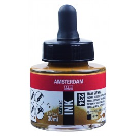 AMSTERDAM ACRYLIC INK - 30ML RAW SIENNA