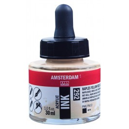 AMSTERDAM ACRYLIC INK - 30ML NAPLES YELLOW RED LIGHT
