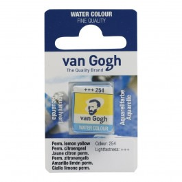 1/2 Pan - Van Gogh Watercolour - Permanent lemon yellow