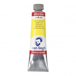 40ml - Van Gogh Acrylic - (Cadm. Equivalent) Azo yellow light