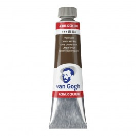 40ml - Van Gogh Acrylic - Raw umber