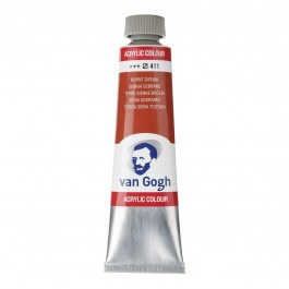 40ml - Van Gogh Acrylic - Burnt sienna