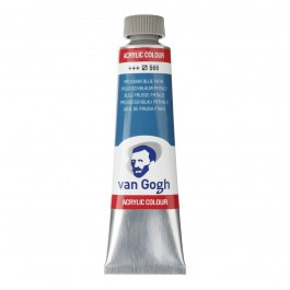 40ml - Van Gogh Acrylic - Prussian blue phthalo