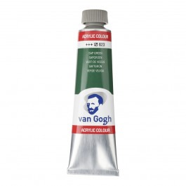 40ml - Van Gogh Acrylic - Sap green