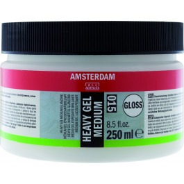 ACRYLIC HEAVY GEL GLOSSY MEDIUM TUB 250ml