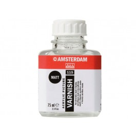 AMSTERDAM ACRYLIC VARNISH MATT JAR 75ml