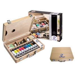 Van Gogh Basic Wooden box Oil colour