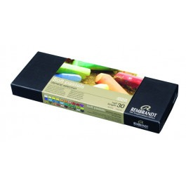 Rembrandt Soft Pastels - STARTERS SET OF 30 1/2 LENGTH