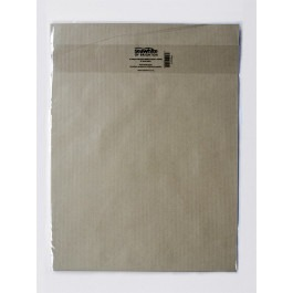 A3 Brown rib craft paper pack of 10 Sheets