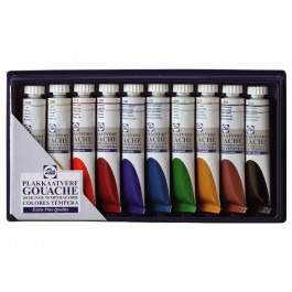 GOUACHE MIXING SET 10X20ML