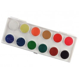 KIDS GOUACHE SET OF 12 PANS