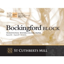 "Bockingford Watercolour Block 12x9"" ~ 300gsm Rough"
