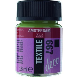 16ml - Textile Paint - Spring Green opaque