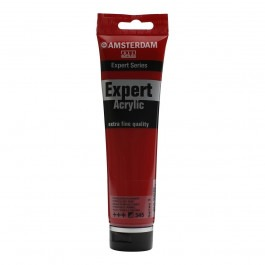 150ml - Amsterdam Expert Acrylic - Pyrrole red deep - Series 3