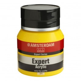 400ml - Amsterdam Expert Acrylic - Cadmium yellow medium - Series 4