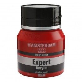 400ml - Amsterdam Expert Acrylic - Pyrrole red - Series 3