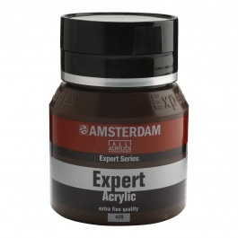 400ml - Amsterdam Expert Acrylic - Burnt umber - Series 2