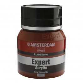 400ml - Amsterdam Expert Acrylic - Burnt sienna - Series 2