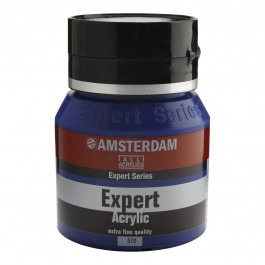 400ml - Amsterdam Expert Acrylic - Phthalo blue - Series 3