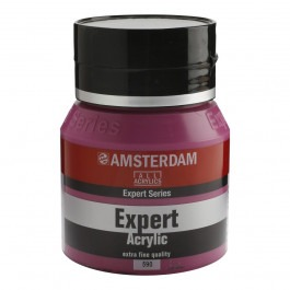 400ml - Amsterdam Expert Acrylic - Permanent red violet opaque - Series 3
