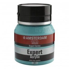 400ml - Amsterdam Expert Acrylic - Turquoise green - Series 2