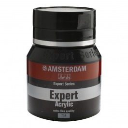 400ml - Amsterdam Expert Acrylic - Oxide black - Series 1