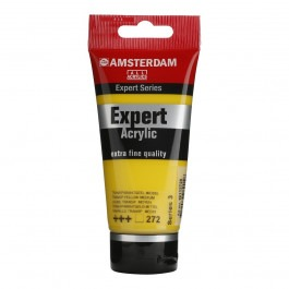 75ml - Amsterdam Expert Acrylic - Transparent yellow medium - Series 3