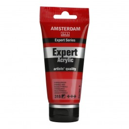 75ml - Amsterdam Expert Acrylic - Pyrrole red - Series 3