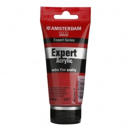 75ml - Amsterdam Expert Acrylic - Transparent red medium - Series 3