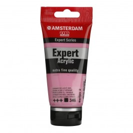 75ml - Amsterdam Expert Acrylic - Quinacridone rose light opaque - Series 2