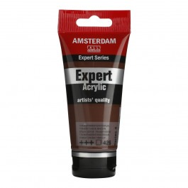 75ml - Amsterdam Expert Acrylic - Transparent oxide brown - Series 3