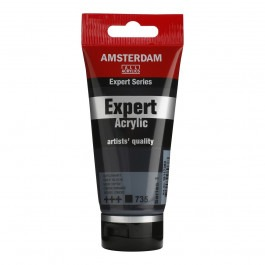 75ml - Amsterdam Expert Acrylic - Oxide black - Series 1