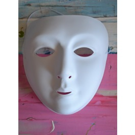 Blank Face Mask
