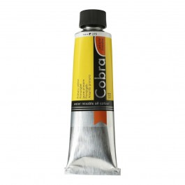 150ml - Cobra Artist Watermixable Oil - Series 2 - Primary yellow