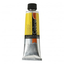 150ml - Cobra Artist Watermixable Oil - Series 2 - Permanent yellow light